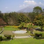The gardens at Country Inn & Suites in Katra.