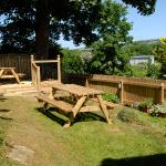 Garden overlooking Whitbarrow Scar is for the sole use of our guests