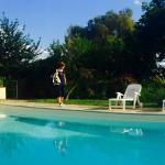 La piscina ad uso degli ospiti