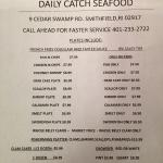 Daily Catch Seafood
