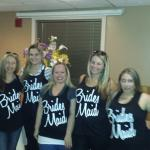 THe bridal party crew!