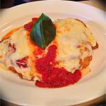Dinner! Martinis.. Scallops -app .. Assagio trio.. Chicken parmigiana.. Peanut butter mmm desert
