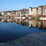 The quayside in Honfleur