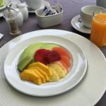 Just a few of the delicious breakfasts made by Chris during our stay!