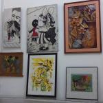 Art gallery inside Casa Obrador in Santa Clara