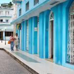 Entrance to Casa Obrador in Santa Clara, Cuba