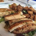 Grilled Mahi, fried Mahi, fried tuna (bonito)