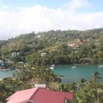 Beautiful Marigot Bay from Oasis