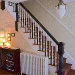 Entry hall and stairs