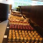 Auswahl beim Buffet