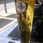 Beer to go ... Perfect for a sunny day.