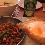 Krapraow chicken and rice