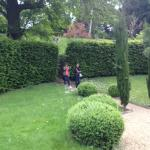 Leading to the Duchess gardens *quite away away)