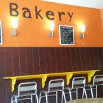 Breakfast and bakery variety and good customer service.
