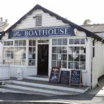 The Boathouse, Portscatho. also garden dining.