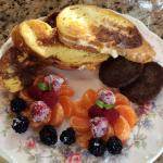 Breakfast! Stuffed French Toast
