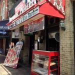 Entrance to Roppolo's Pizzeria.