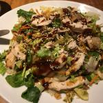 chinese chicken salad - half as well