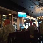 Full bar. Craft beers. There is more room than before and it's always busy I hear. That means th