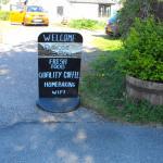 Glencoe Cafe Sign