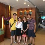 With the very accommodating staff