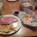 Prime Rib and steak type French Fries!