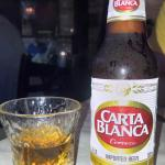 Carta Blanca and Casa Nobles tequila