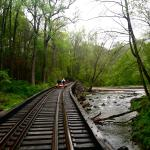 'S-Trestle' across the Red Clay Creek