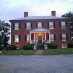 The main house. Bed and breakfast.