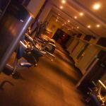 The Gym, on the top floor. Pool side, well equipped, and has amazing trainers!