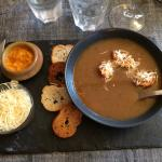 Soupe de poisson du menu Corse