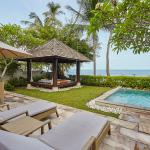 Beach front pool villa outdoor