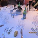 jolie table pour un groupe