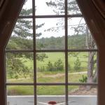 vue golf de la chambre (idem balcon) appt 104 Argousiers