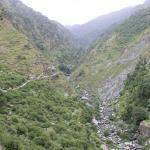 In the way to Bhagsu Waterfall