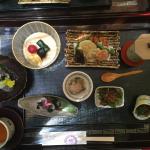 Traditional Japanese Kawadoko Dining in beautiful surroundings.
