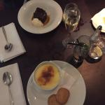 Sticky Toffee Pudding & Creme Brulee