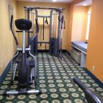 Microtel - part of workout room