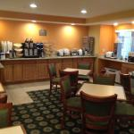 Microtel - breakfast room