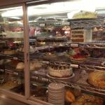 Latham 76 Diner - cake display
