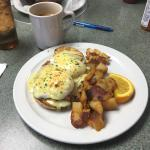 The new Corner Cafe Benedict!! Super delicious and a great addition to their menu!