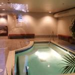 Evergreen Lodge indoor hot tub