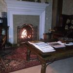 Traditional fire place in Ogston Suite