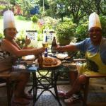 Photo at Mamma's  gourmet cooking class & garden restaurant