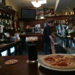 Pizza and a Pint at Farren's Bar