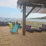 Bar avec vue sur la plage