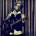Montrealer Cécile Doo-Kingué late set at Lula Lounge