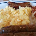 Sausage and Eggs at IHOP Barstow