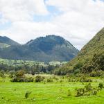 Hacienda Zuleta: view on hike to condor center