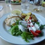 Amazing cod dinner
